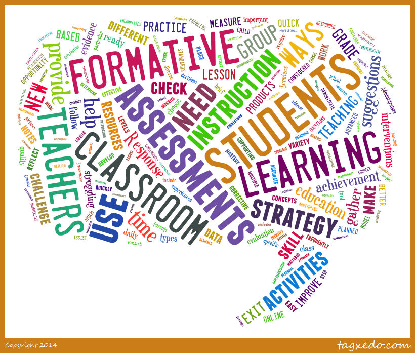 Formative Assessment Resources - Home